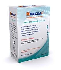 Khazra Nano Chelated Copper Fertilizer