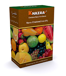 Khazra Nano Chelated Iron 9% Fertilizer