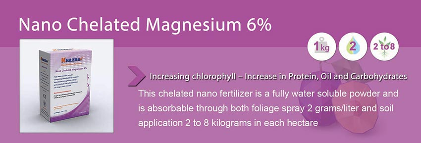 Khazra Nano Chelated Magnesium Fertilizer